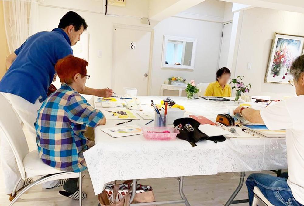 水彩画教室